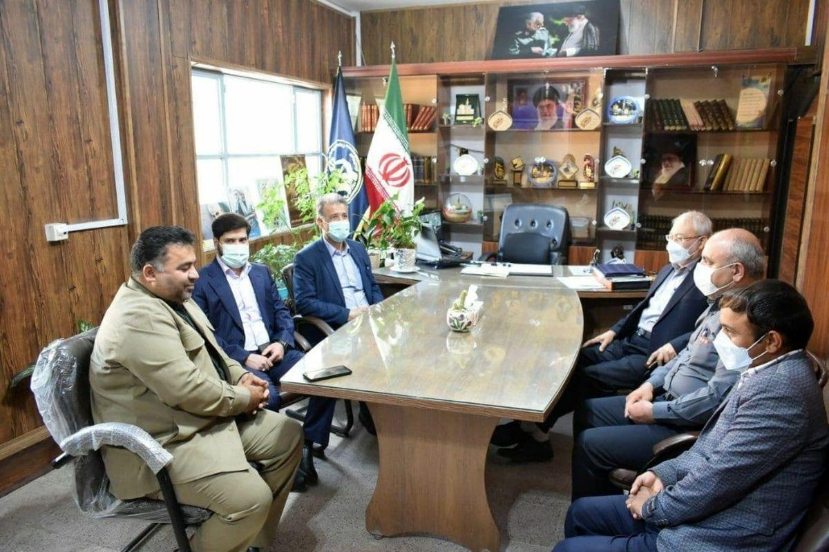 حضور مدیرعامل مجتمع اپال پارسیان در کمیته امداد