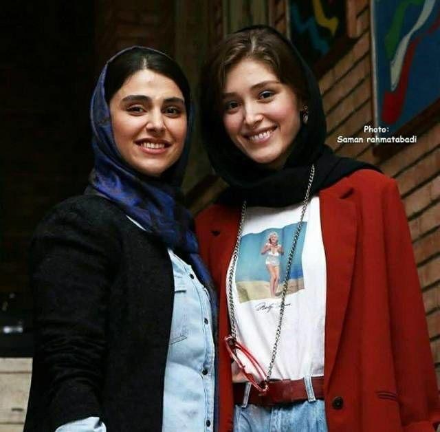 فرشته حسینی و لاله مرزبان