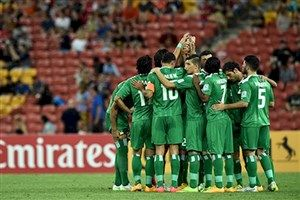عراق نمی خواهد در برابر ایران بازی کند + عکس