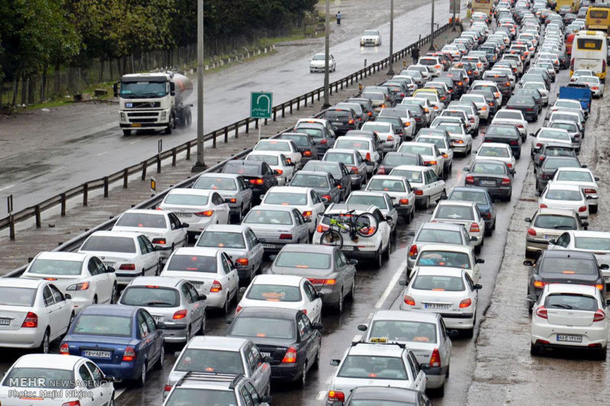 وضعیت ترافیکی راه های کشور در 27 شهریور