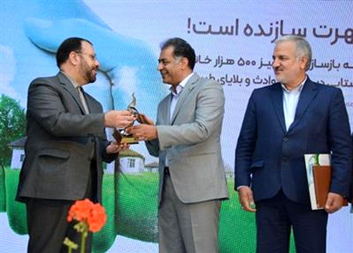 تابش مهر بانک قرض الحسنه مهر ایران بر سر 500 هزار خانه روستایی