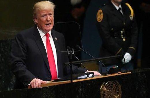 ترامپ : تحریم های ایران فعلا برداشته نمی شود