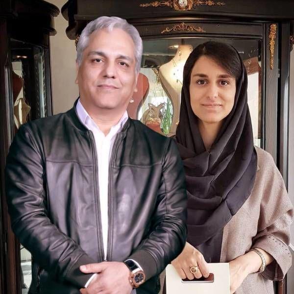 مهران مدیری و دخترش