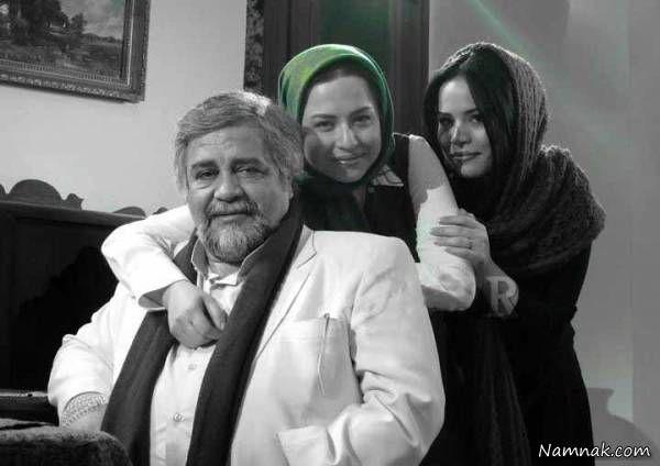 محمدرضا شریفی نیا و دخترانش