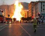 شهران مرکز انفجار بزرگ در تهران