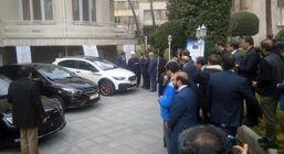 معرفی دو محصول جدید ایران خودرو در حاشیه جلسه هیات وزیران
