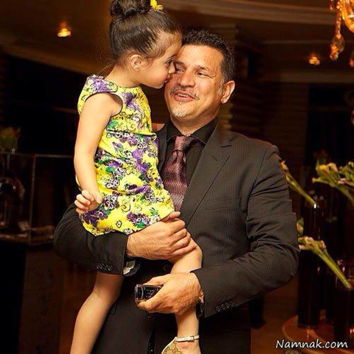 عکس های خصوصی علی دایی و همسرش | عکس دخترهای علی دایی