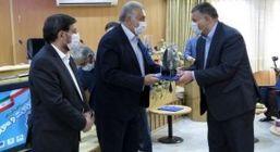 شرکت معدنی املاح ایران به عنوان واحد نمونه استاندارد استان سمنان معرفی شد