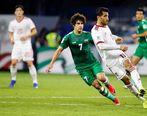 گزارش لحظه به لحظه بازی ایران و عراق