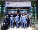 بازدید مدیر عامل بیمه آسیا و هیأت همراه از شعب استان زنجان