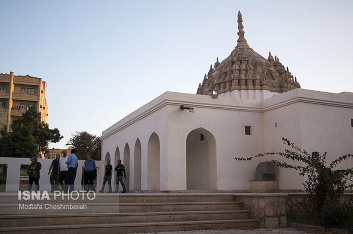 آتش سوزی در معبد هندوهای بندرعباس (فیلم)