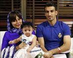 عکس جنجالی فوتبالیست معروف در آغوش همسرش + بیوگرافی و تصاویر جدید