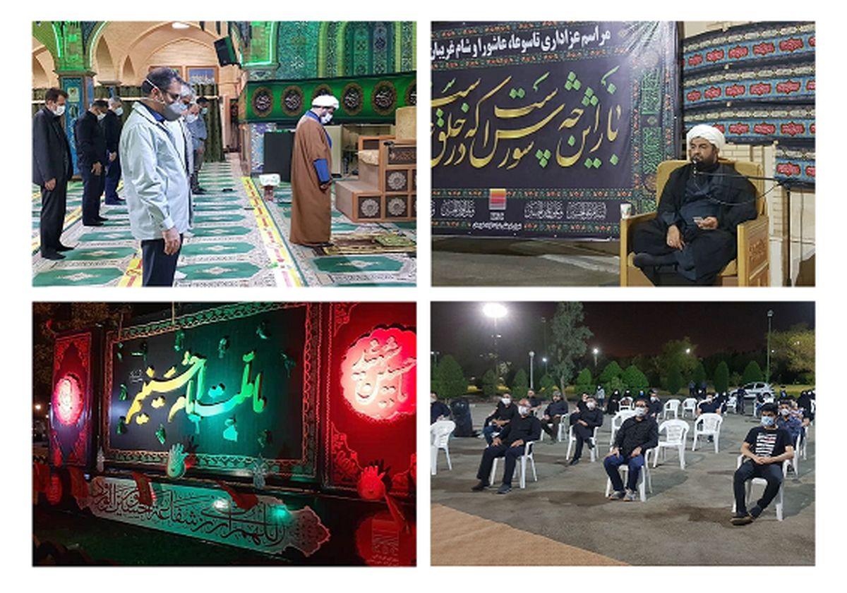 شور و شعور حسینی در فولاد خوزستان طنین انداز شد