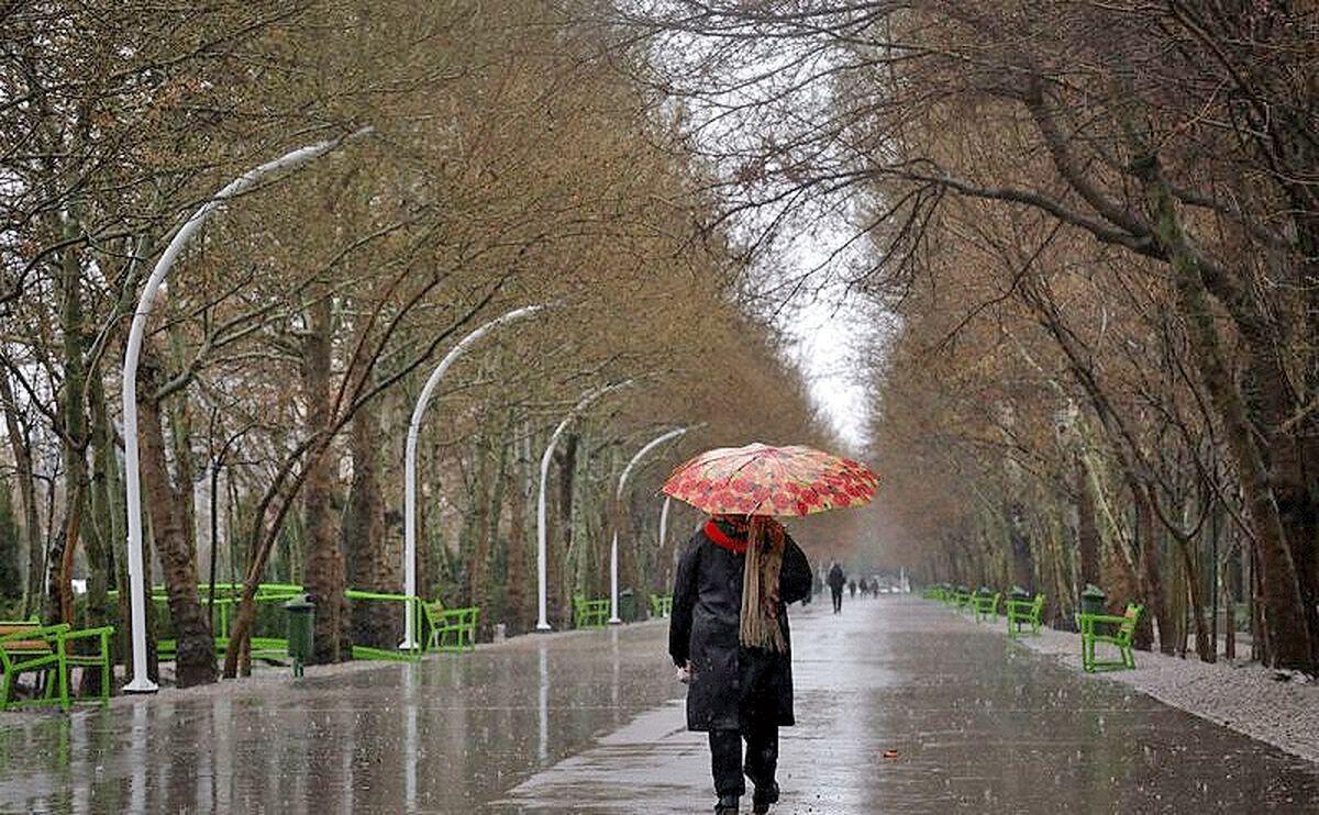 تداوم بارش های پراکنده در کشور