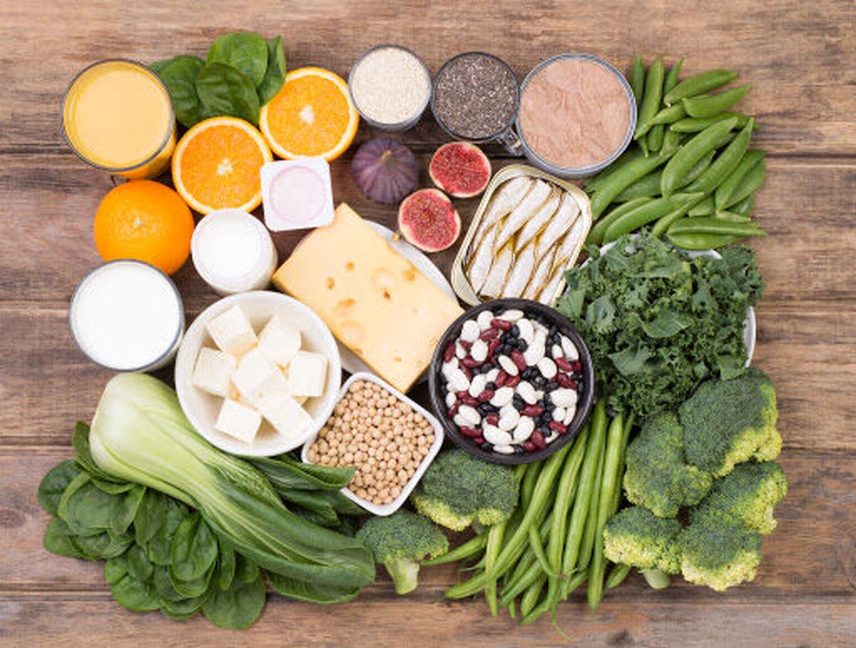 برای افزایش کلسیم بدن این خوراکی هارا مصرف کنید