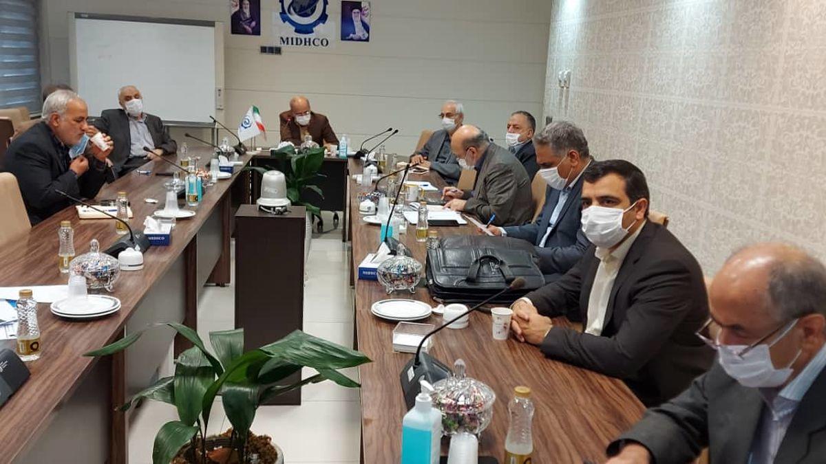 یکصد و سی و شمین جلسه تولید شرکت میدکو برگزار شد