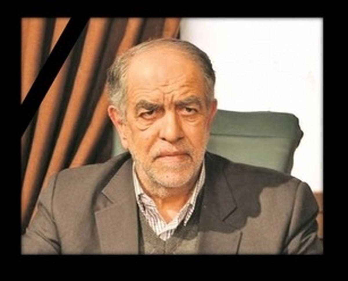 پیام مدیرعامل سازمان منطقه آزاد قشم به مناسبت درگذشت اکبر ترکان