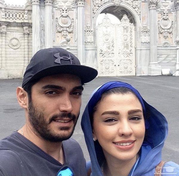 سیما خضر آبادی و همسرش