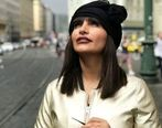 حرکت جنجالی و منشوری صحرا فتحی، بازیگر جوان در خارج+ تصاویر