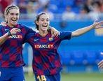 پیروزی بزرگ تیم زنان بارسلونا