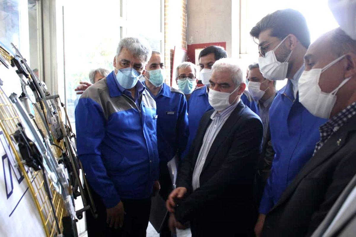 امسال ۵۰ هزار دستگاه تارا در ایران خودرو تولید میشود