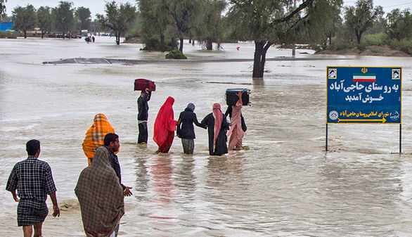 بلوچستان را آب گرفته؛ هلال احمر رئیس ندارد