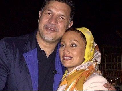 عکس لو رفته از علی دایی و همسرش در پارتی مختلط + تصاویر