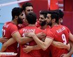 نتیجه بازی والیبال ایران و تونس + خلاصه بازی