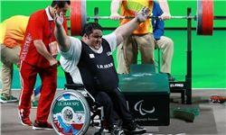 سیامند رحمان رکورد جهان و پارالمپیک را شکست