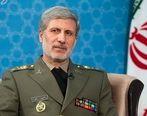 وزیر دفاع: تمرکز ایران روی ارتقای توان موشکی است
