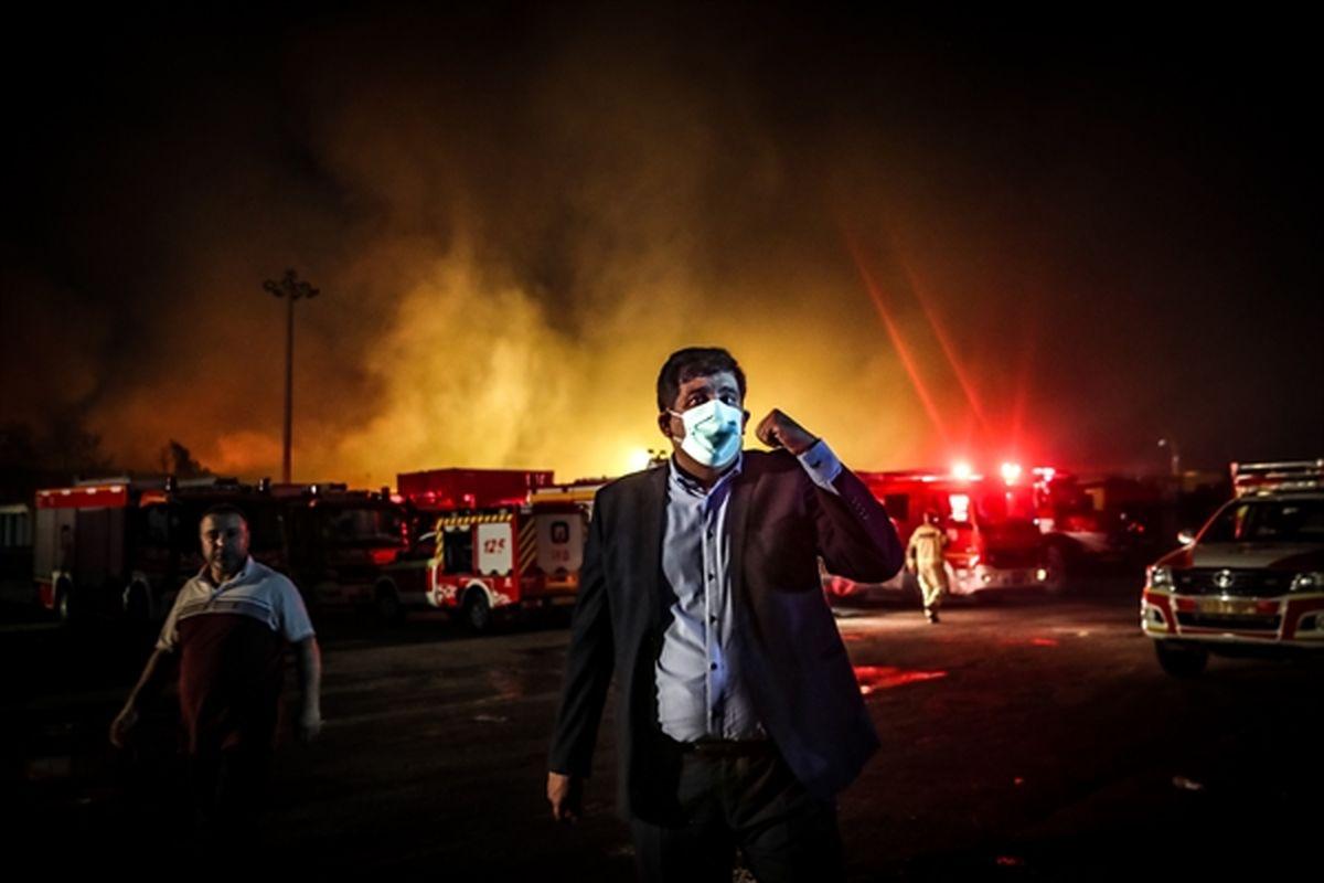 جزئیات آتش سوزی انبارهای اموال تملیکی استان تهران