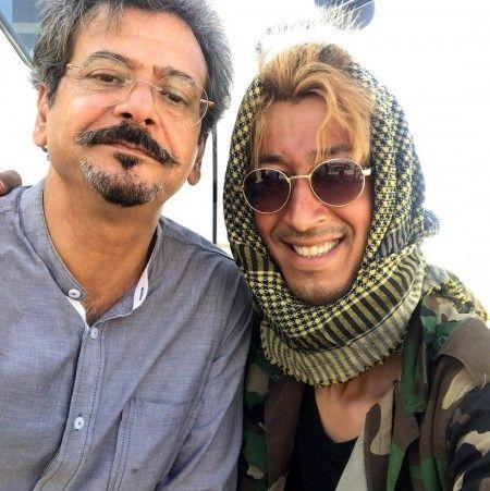 داستان جالب پیک موتوری شدن بهرام افشار + بیوگرافی و عکس