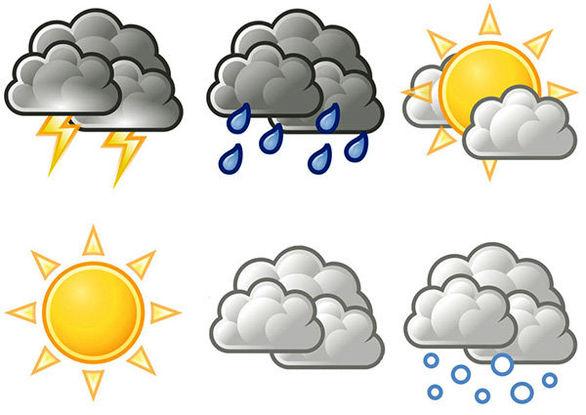 پیش بینی وضعیت اب و هوا تا اخر هفته اول اردیبهشت