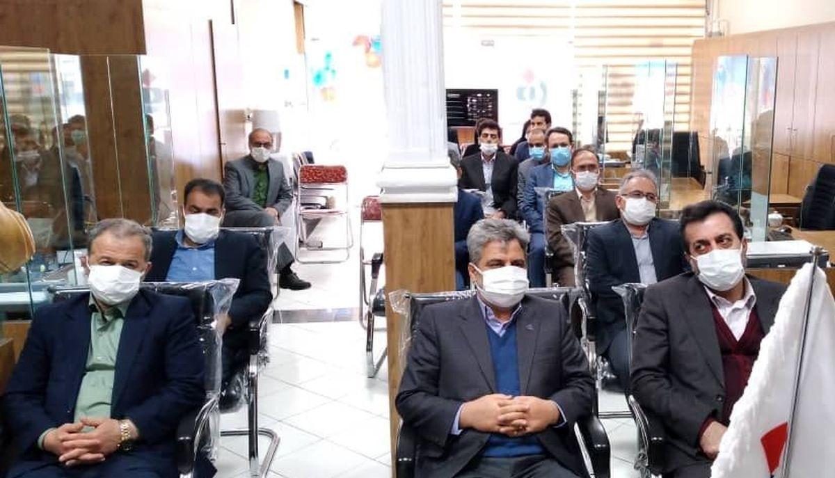 افتتاح شعبه ابهر بیمه دانا