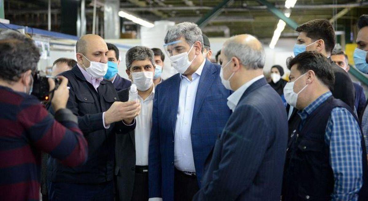 تقدیر ویژه شهردار تهران از اقدام خیرخواهانه گروه سام در دوران تشدید کرونا