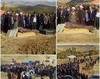 مراسم تشییع جنازه مظاهر مصفا + عکس