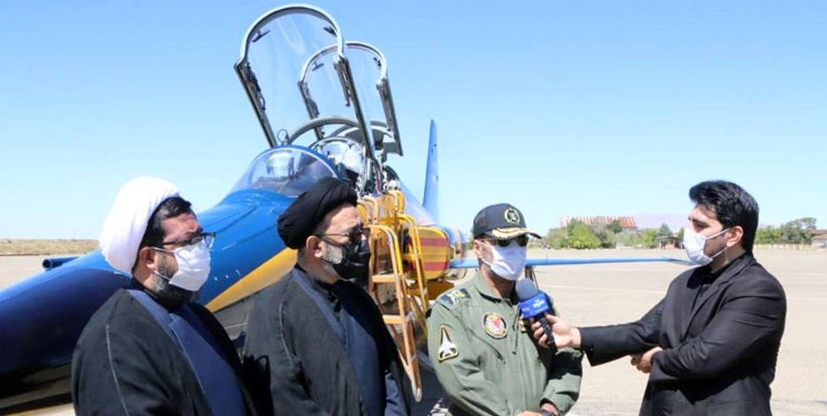 نخستین بمب افکن به نام کوثر در پایگاه شهید فکوری به زمین نشست