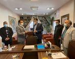 تقدیر شرکت مهندسی آب و فاضلاب استان کرمان از خدمات شایسته بیمه سینا