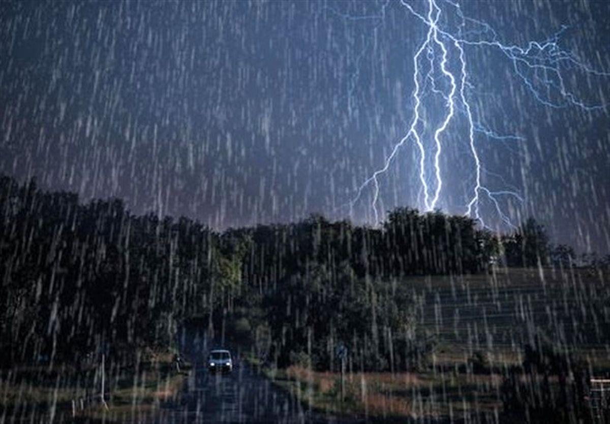 وضعیت هواشناسی ایران جمعه 8 فروردین