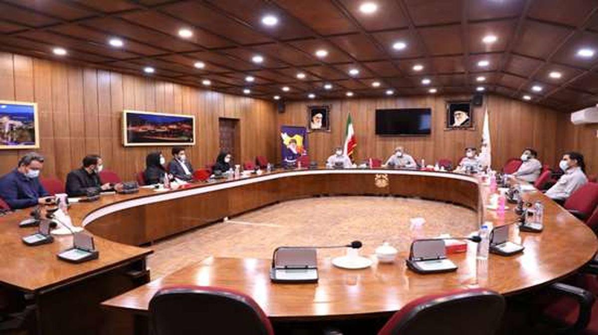 جلسه شورای راهبری مدیریت دانش برگزار شد