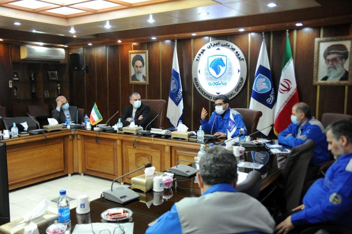 دیپلماسی ایرانی برای توسعه صادرات خودرو