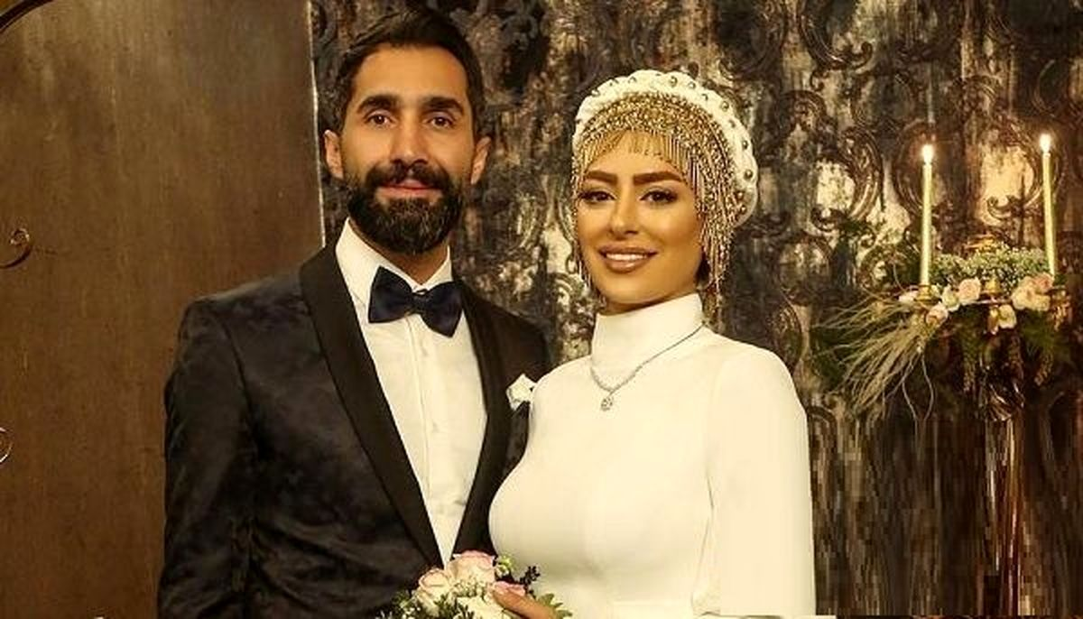 عکسهای عاشقانه و جنجالی سمانه پاکدل و هادی کاظمی +تصاویر دیده نشده و بیوگرافی