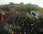 راهپیمایی باشکوه مردم تبریز علیه آشوبگران