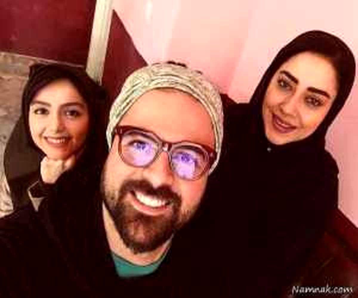 عکس همسر جدید هومن سیدی   او زیباتر است یا آزاده صمدی ؟ + عکس