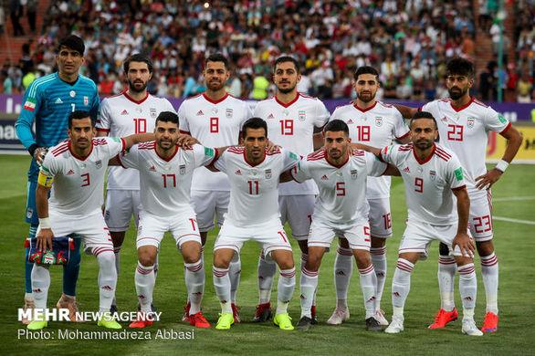 تیم ملی ایران در رده بندی جهان 6 پله سقوط کرد+جزئیات