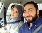 واکنش پدر شوهر آناشید حسینی به طلاق پسر و عروسش + عکس