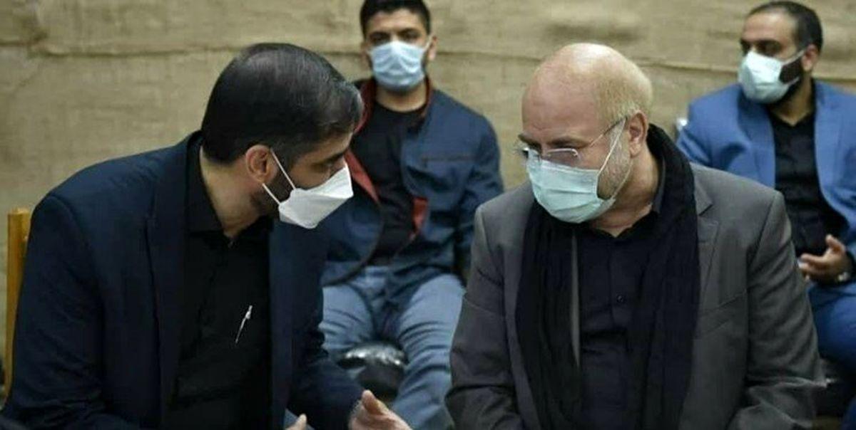 دیدار دکتر قالیباف و دکتر سعیدمحمد