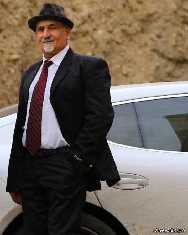 رامین رضاییان و عکس پدرش