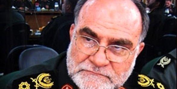 زمان تشییع جنازه سردار قدرت الله منصوری