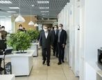 بازدید مدیرعامل بانک ملت از شرکت کارگزاری مفید